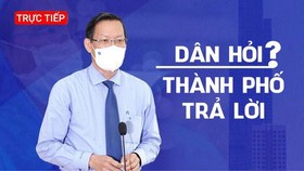 HCMC Chairman talks to residents about orientations after September 15