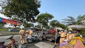 Traffic accidents down in ten months