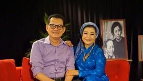 NSND Kim Cương và NSƯT Hữu Châu trong chương trình Chuyện về những vở diễn một thời