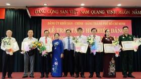 Trao Huy hiệu Đảng đợt 3-2-2019 cho 113 đảng viên