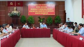 Phó Bí thư Thành ủy TPHCM Võ Thị Dung phát biểu chỉ đạo tại hội nghị