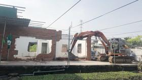 Cưỡng chế 17 công trình xây dựng không phép tại quận Thủ Đức