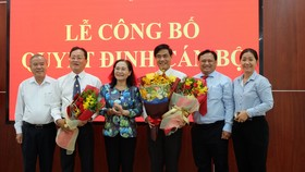 Đồng chí Ngô Văn Luận làm Phó Trưởng Ban Dân vận Thành ủy TPHCM  
