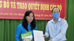 Bà Huỳnh Thị Kim Xuyến giữ chức Phó Chủ tịch Hội Nông dân TPHCM