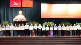 Công tác dân vận đóng góp không nhỏ vào sự phát triển chung của TPHCM  