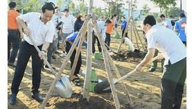 TP Thủ Đức phát động trồng cây xanh đợt 2 năm 2021
