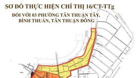 Quận 7 áp dụng Chỉ thị 16 đối với 3 phường