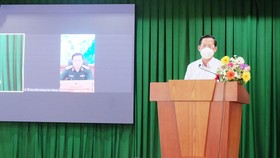 Chủ tịch UBND TPHCM Phan Văn Mãi trao đổi với cử tri quận 4, 7 và huyện Nhà Bè, Cần Giờ