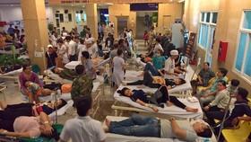 Bệnh nhân đang điều trị tại Bệnh viện Đa khoa Xuyên Á