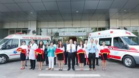 Trạm vệ tinh Trung tâm Cấp cứu 115 hoạt động 24/7 với hệ thống xe cứu thương đúng chuẩn sẽ tiếp nhận và cấp cứu kịp thời cho bệnh nhân