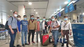 Đoàn bác sĩ TPHCM lên đường chi viện cho Đà Nẵng. Ảnh: Sở Y tế TPHCM