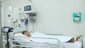 Bệnh nhân đang được điều trị tích cực tại Bệnh viện Chợ Rẫy