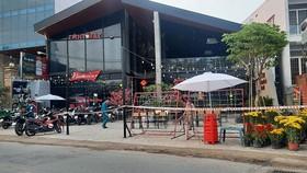Toàn bộ số nhà 146 đường Tây Hòa, phường Phước Long A, TP Thủ Đức đang tạm thời bị phong tỏa