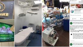 Cơ sở phẫu thuật thẩm mỹ trái phép Viet Anh Mega Beauty Center