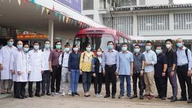 """Đội phản ứng nhanh Bệnh viện Chợ Rẫy đến """"điểm nóng"""" Bắc Giang"""