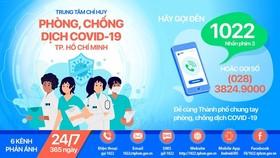 Cổng 1022 sẵn sàng tiếp nhận thông tin phản ánh về tình hình dịch Covid-19