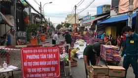 Quận Bình Tân, tìm người từng đến chợ khu phố 2, phường An Lạc