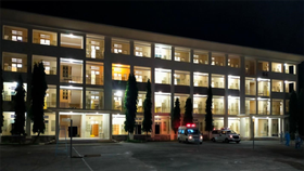 Bệnh viện dã chiến thu dung điều trị Covid-19 số 1 đã đi vào hoạt động ngay trong đêm 26-6