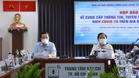 Buổi họp báo thông tin về công tác phòng chống dịch bệnh trên địa bàn TPHCM