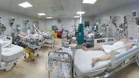 Bệnh nhân mắc Covid-19 đang được điều trị tại Bệnh viện Bệnh Nhiệt đới TPHCM
