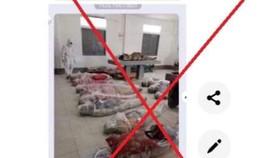 Hình ảnh xác chết do Covid-19 tại TPHCM là tin giả