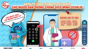 Tư vấn, chăm sóc sức khỏe cho người dân qua cổng thông tin 1022