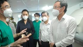 TPHCM Khánh thành Trung tâm Hồi sức tích cực người bệnh Covid-19