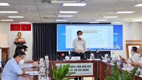 Đồng chí Phạm Đức Hải Phó Ban Chỉ đạo phòng chống dịch Covid-19 TPHCM