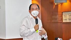 PGS-TS Tăng Chí Thượng, Giám đốc Sở Y tế TPHCM thông tin tại buổi họp báo