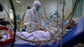 Bệnh nhân mắc Covid-19 đang điều trị tại Bệnh viện quận Gò Vấp