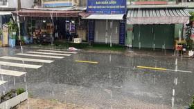 Khu vực Nam bộ mưa do ảnh hưởng bão Choi-Wan