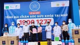 """C.P. Việt Nam đồng hành cùng dự án """"Bệnh viện tại nhà"""" hỗ trợ người dân vượt qua Covid-19."""