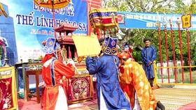 Lễ Khao lề thế lính Hoàng Sa ở Lý Sơn