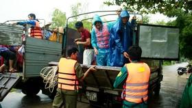 Diễn tập ứng phó thiên tai, phòng chống cứu nạn, cứu hộ tại Quảng Ngãi