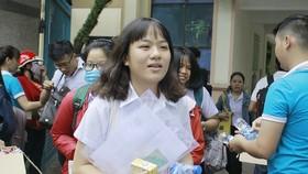 Thí sinh tham gia kỳ thi THPT Quốc gia năm 2018