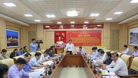 Ban chỉ đạo Trung ương về phòng chống tham nhũng làm việc tại Quảng Ngãi