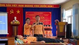 Tập huấn an toàn hàng hải cho ngư dân đảo Lý Sơn, Quảng Ngãi
