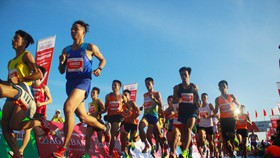 Sôi động Giải vô địch quốc gia Marathon và cự ly dài Báo Tiền Phong lần thứ 61