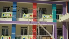 Quảng Ngãi: Trường mầm non 9 tỷ mới xây xong đã nứt