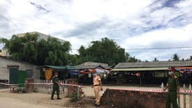 Liên quan đến ca bệnh 786 và 787, tỉnh Quảng Ngãi cấm họp 2 chợ