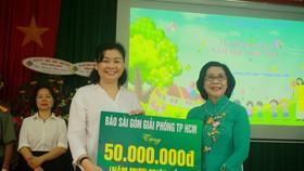 Khoảng 2 tỷ đồng hỗ trợ Trung tâm Nuôi dạy trẻ khuyết tật Võ Hồng Sơn