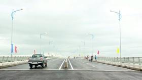 Khánh thành cầu Cổ Lũy bắc qua sông Trà Khúc, Quảng Ngãi