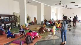 3 huyện miền núi tỉnh Quảng Ngãi trong vùng sạt lở di dời dân trước 17 giờ ngày 3-11