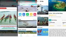 Quảng Ngãi ra mắt App Du lịch Quảng Ngãi