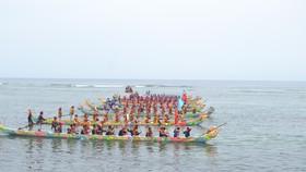 Lễ hội đua thuyền tứ linh Lý Sơn được công nhận là di sản văn hóa phi vật thể quốc gia