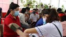 Quảng Ngãi: 600 người tham gia hiến máu tình nguyện