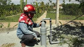 Nắng khô hạn, nhiều nơi Quảng Ngãi thiếu nước sinh hoạt