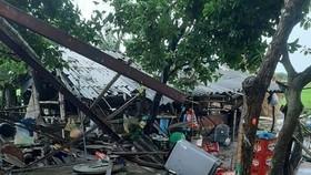 Quảng Ngãi: Lốc xoáy gây tốc mái hàng trăm nhà và nhiều công trình, thiệt hại trên 1 tỷ đồng