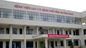 Bệnh viện Lao và bệnh phổi tỉnh Quảng Ngãi sẽ trưng dụng làm Bệnh viện Điều trị bệnh nhân Covid-19 cơ sở 2. Ảnh: baoquangngai