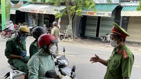 Ngày đầu Quảng Ngãi lập chốt nội thành, hạn chế ra đường không cần thiết